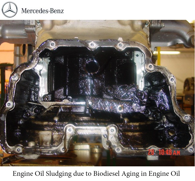 2014_07_25_mercedes_biodiesel engine sludge