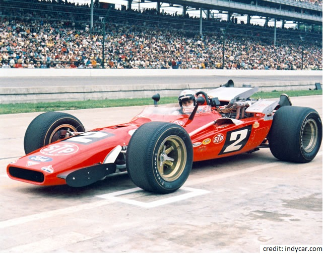 methanol race car_Andretti_1969 Indy 500