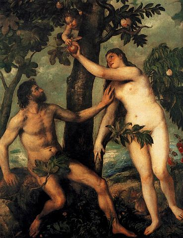 Titian: The Fall of Man